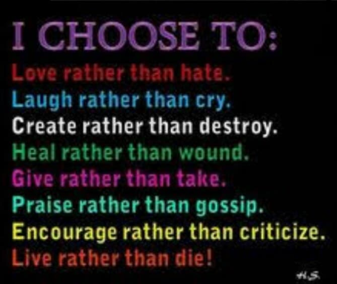 choose, laugh, and love image