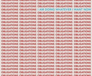 quotes, red, and obligation image
