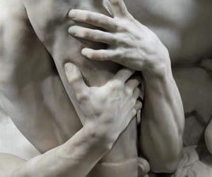 sculpture, art, and hands image
