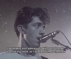alex turner, arctic monkeys, and lyric image