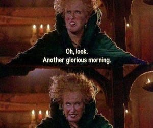 morning, hocus pocus, and funny image