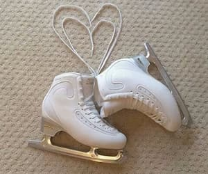 aesthetic and ice skates image
