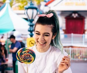 blue hair, lollipop, and jessie paege image
