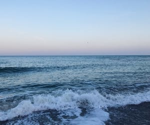 blue, nature, and sea image