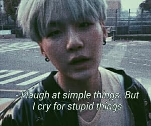 bts, suga, and quotes image