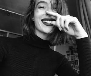beautiful, girl, and happy image