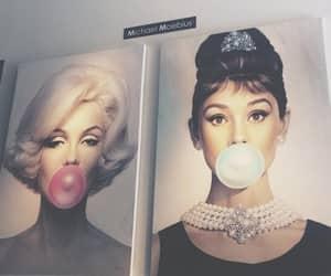 audrey hepburn, Marilyn Monroe, and art image