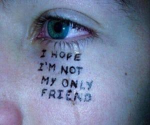 sad, grunge, and cry image