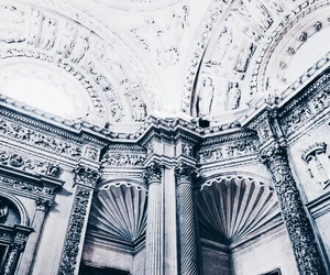 architecture, blue, and white image