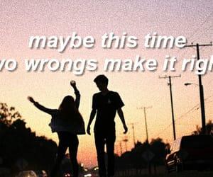 couple, grunge, and Lyrics image