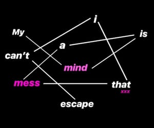 black, escape, and pink image