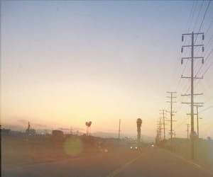 los angeles, photography, and road image