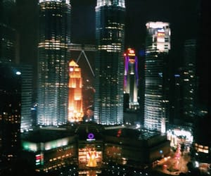 tower, nightview, and asia image
