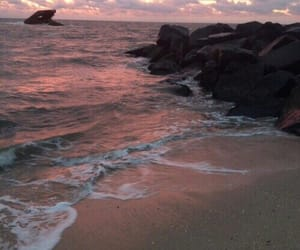 beach, theme, and ocean image