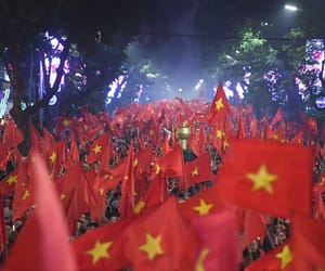 soccer, victory, and viet nam image
