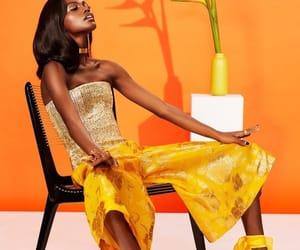 orange and melanin image