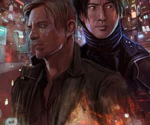 cyberpunk, digital art, and geek image