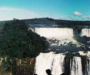 brazil, Iguazu Falls, and panorama image