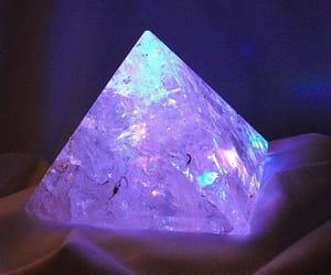 crystal, pyramid, and triangle image