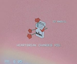 aesthetic, heartbreak, and quotes image