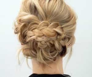 hairstyle, blonde, and braid image