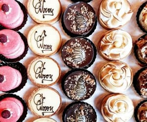 cake, cakes, and chocolate cupcakes image