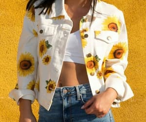 outfit and yellow image