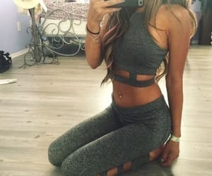 fashion, body, and fitness image