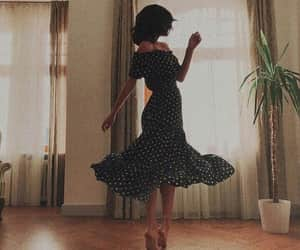 dress, girl, and dance image