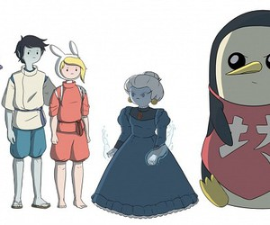 adventure time, ice queen, and spirited away image