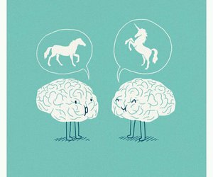 brain and unicorn image