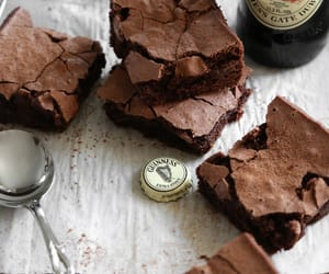brownies, food, and delicious image