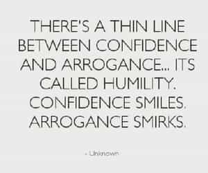 confidence, quotes, and humility image