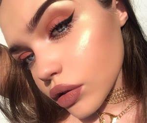 girl, make, and make up image