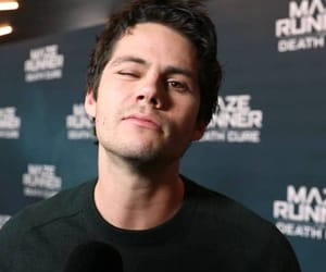 dylan o'brien, thomas, and actor image