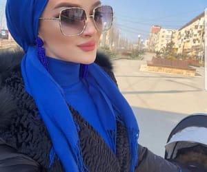 fashion, turban, and chechen image