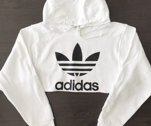 adidas, cropped, and sweat image