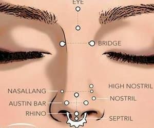 aesthetic, septum, and third eye image