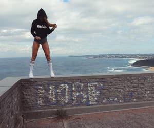 adidas, hoodie, and kneesocks image