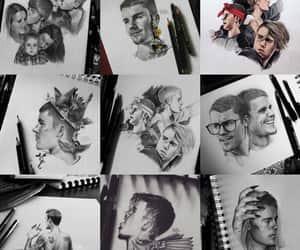 desenho, justin bieber, and drawnig image