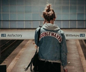 tumblr, denim, and troublemaker image