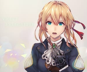 anime, anime girl, and violet evergarden image