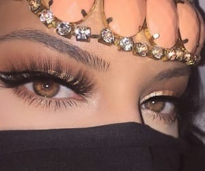 eyes, faux cils, and fake lashes image