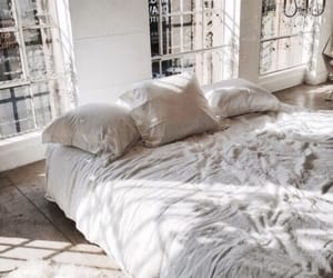 bed, bedding, and inspiration image