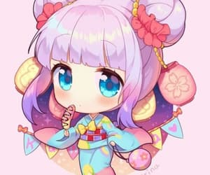 cute, anime, and chibi image