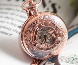 rose gold, time, and tumblr image