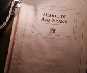 aesthetic and diario de ana frank image