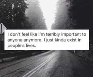 sad, quotes, and life image