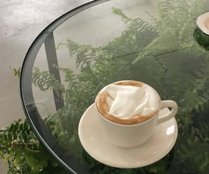 aesthetic, coffee, and green image