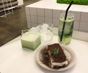 aesthetic, green, and dessert image